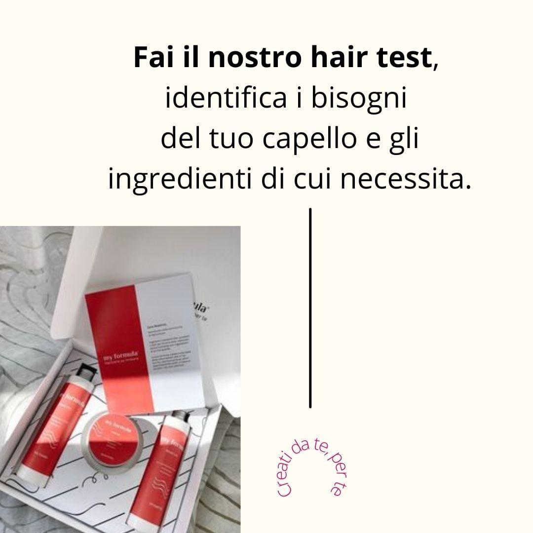 prodotti per capelli personalizzati